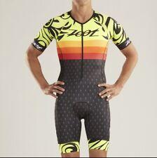 ZOOT Mens LTD TriSuit Short Sleeve Aero Triathlon Skinsuit Racesuit XL