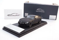 #ALM420710 - Almost Real Mercedes-AMG GT-R - Matt-Schwarz - 1:43