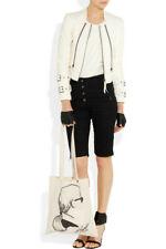 BNWT Karl Lagerfeld Printed Cream Canvas Tote Bag Shopper