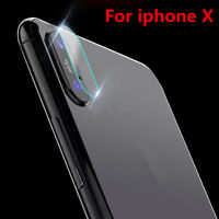 For iPhone X Camera Len Protector Cover 9H+ Premium Tempered Glass Back Film Hot