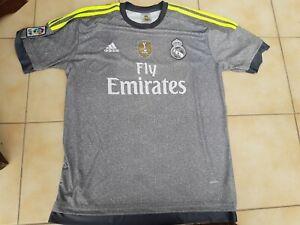 REAL MADRID SPAIN 2015/2016 AWAY FOOTBALL SHIRT JERSEY #7 RONALDO ADIDAS SIZE XL