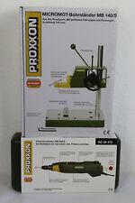 Proxxon Set Micromot  Bohrständer MB 140 S 28606+Feinbohrschleifer 28472