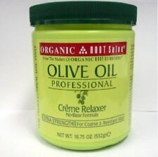 ORGANIC ROOT OLIVE OIL PROFESSIONAL CREME RELAXER NO-BASE EXTRA STRENGTH 18.75OZ