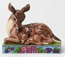 Disney Traditions Sleep Tight Young Prince Bambi Mother Figurine 12cm 4049640