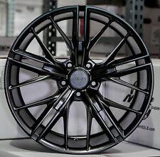 "20"" 20x10/20x11 5x120 MRR M650 Wheels For Chevy Camaro SS RS Z28 Black Rims Set"