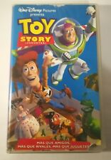 TOY STORY (JUGUETES) VHS WALT DISNEY PIXAR PICTURES  ESPAÑOL AÑO 1995