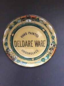 Buffalo Pottery Deldare Advertising Plate