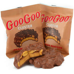 Goo Goo Cluster Peanut Butter 12ct Individually Wrapped Free Shipping
