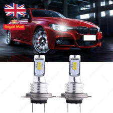 For  BMW 1 Series F20 F21 - H7 Xenon White Low Beam LED Headlight Bulbs 6000k UK