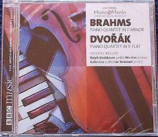 BRAHMS Piano Quintet DVORAK Quartet WU HAN Ralph KIRSHBAUM Colin CARR KALISH CD