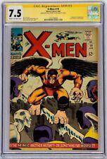 Uncanny X-Men #19 Marvel 1966 CGC 7.5 SS Signed Stan Lee Origin & 1st app Mimic