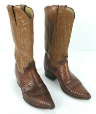 Justin Women's Western Cowgirl Boots Style L4501 SZ 5.5 Lizard