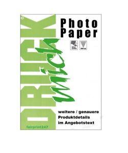 Fotopapier Druck Mich 100 Blatt 10x15 cm 150g g/m² glossy glänzend 1-seitig