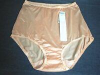 Vintage Shadowline Nylon Brief Panties  sz 11  4XLarge