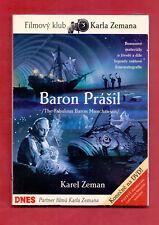 BARON PRASIL / BARON MUNCHAUSEN  # DVD PAL # Czech # Karel Zeman # remastered
