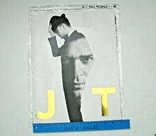 Justin Timberlake 20/20 Tour Program Book 20/20 Experience Original