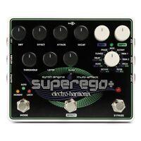 Electro-Harmonix EHX Superego+ Plus Synth Engine Guitar Effects Pedal Stompbox