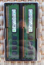 2x Samsung M391B5773DH0-YH9 2GB PC3-10600E DDR3-1333MHz ECC DIM FUJITSU PRIMERGY