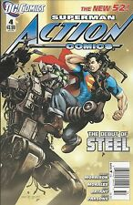 Superman Action Comics issue 4 The New 52