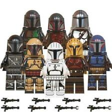 Mandalorian Set (Pack of 8) Star Wars Mini-figure. Fits Lego Free Yoda Uk Seller