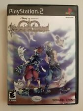 Kingdom Hearts Re: Chain of Memories (Sony PlayStation 2, 2008) BLACK LABEL