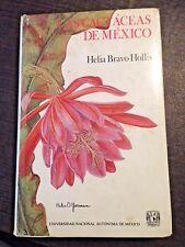 Las Cactaceas Mexico 2 Volumes Rare Cactus Cactaceae Succulents Botany Cacti