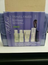 Fekkai Advanced Brilliant Glossing Travel Faves Kit NIB olive oil