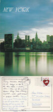 1994 UN BUILDING & SKYLINE NEW YORK UNITED STATES COLOUR POSTCARD