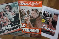 """3 Filmprogramme """"Old Shatterhand""""  s.Fotos!!"""