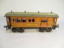 Bing Combine Baggage Car Wood Litho Prewar 1 Gauge Germany X4626