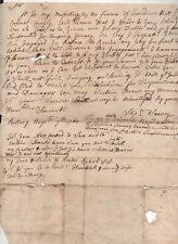 1761 Stephen Seavey to Joseph Garrish Plans for payment he missed Kittery Maine