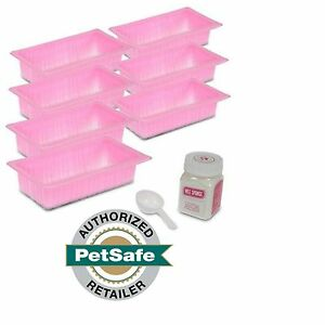 PetSafe Pet Loo Pee Pod Pack of 7 Replacement Pods, 1 Tub Wee Sponge & Scoop