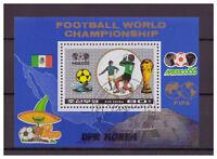 Korea, Fußball-Weltmeisterschaft, Mexiko MiNr. 2779 Block 221, 1986