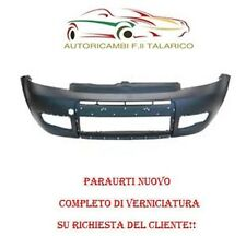 PARAURTI ANT ANTERIORE FIAT PANDA DAL 09 VERNICIATO 415/B BLU FERRARI