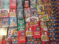 Lot of Old Vintage MLB Baseball Cards in Unopened Packs 55+ Cards! Topps Score