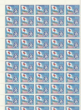 Sri Lanka 4281 - 1986 RED CROSS COMPLETE SHEET OF 50 u/m