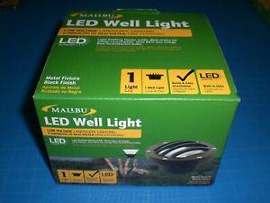 MALIBU LED WELL LIGHT LOW VOLTAGE LANDSCAPE LIGHTING