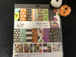 Simple Stories Collector's Essential Kit Disney Say Cheese Halloween