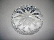 GALWAY IRISH SLICED SPARKLING CRYSTAL HEAVY PAPERWEIGHT UNIQUE GORGEOUS RARE