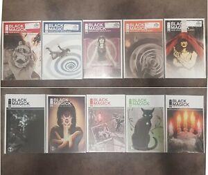 Black Magick Comic Lot Of 10 Books NM - #1,2,3,4,6,8,9,11 plus 2 variants