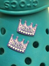 2 Katie Shoe Charms For Crocs & Jibbitz Wristbands. Free UK P&P.
