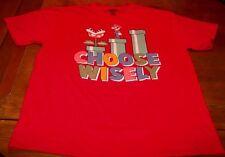 VINTAGE STYLE Nintendo SUPER MARIO BROS. CHOOSE WISLEY T-Shirt XL NEW