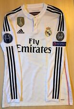 Adidas Real Madrid 14/15 Home Jersey Match Player Issue Adizero Size 8