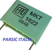 160V TGL 55163 AXIAL POLYESTER CAPACITOR 1 x MKT 0.22uF