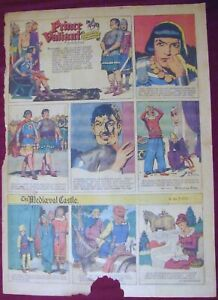 kd PRINCE VALIANT #454 Sunday Page 10/21/45, Uncle Remus, Tillie the Toiler