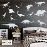 Dinosaur Wall Stickers & Decals x13 Assorted Vinyl Art Kids Bedroom Removable