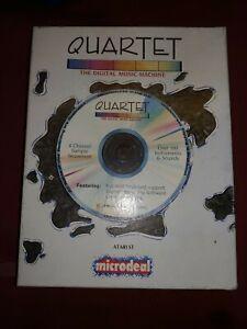 Atari 520 1040 ST STE Mega Computer Microdeal Quartet Music Software  BOXED