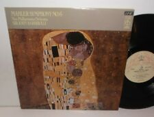 CFP 4424 Mahler Symphony No.6 New Philharmonia Orchestra Barbirolli 2LP