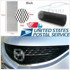"""Car 40""""x13"""" Thicken Rhombus Style Tuning Grille Mesh Small Size 4* 8mm Aluminium"""