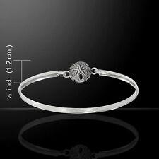 Sand Dollar .925 Sterling Silver Bangle Bracelet by Peter Stone